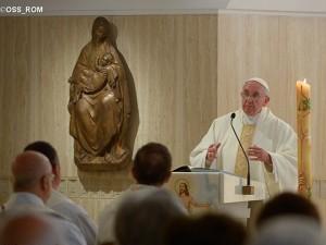 """Francisco explica o que significa, para o cristão, dizer """"adeus"""" / Foto: L'Osservatore Romano"""